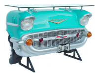Chevy Car Bar Turquoise - Click on image for more details