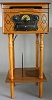 Chichester III Record Player Light Wood