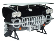 Corvette Car Bar Black - Click on image for more details