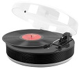 Bluetooth Discgo Round Record Player Black
