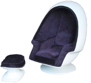 Chairs on Egg Pod Chair Retro Furniture Novelty Lounge Furniture Retro Novelty