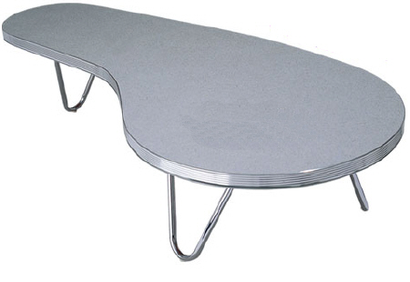 50s Style Kidney Shaped Coffee Table Retro Coffee Tables Retro To17 Coffee Table Wotever