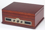 USB Norfolk Retro Record Player  - Click here to Enlarge Picture