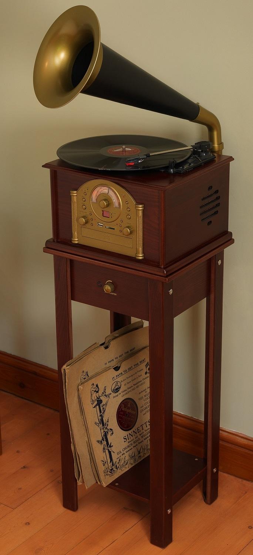 Phono1 Gramophone Steepletone Phono1 Gramophone Style