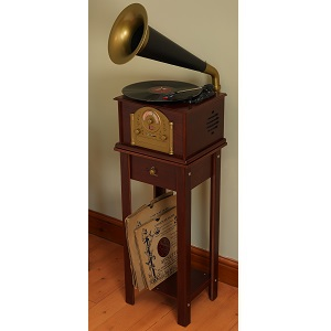Encode Gramophone Stereo Music Centre Dark - click on image to enlarge