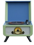 Rico Retro Record Player with built in integral CD player - Click on image for more details