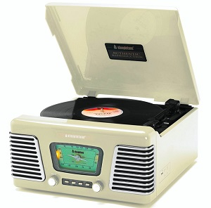 Roxy 1 Record Player USB 60s Style