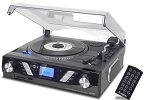 ST930 PRO Record Player Black