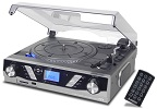 ST930 PRO Record Player Silver