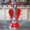 Vespa LED Table Lamp Red