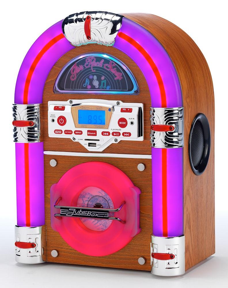 Jukebox | Steepletone Jive Rock Sixty Mini Jukebox