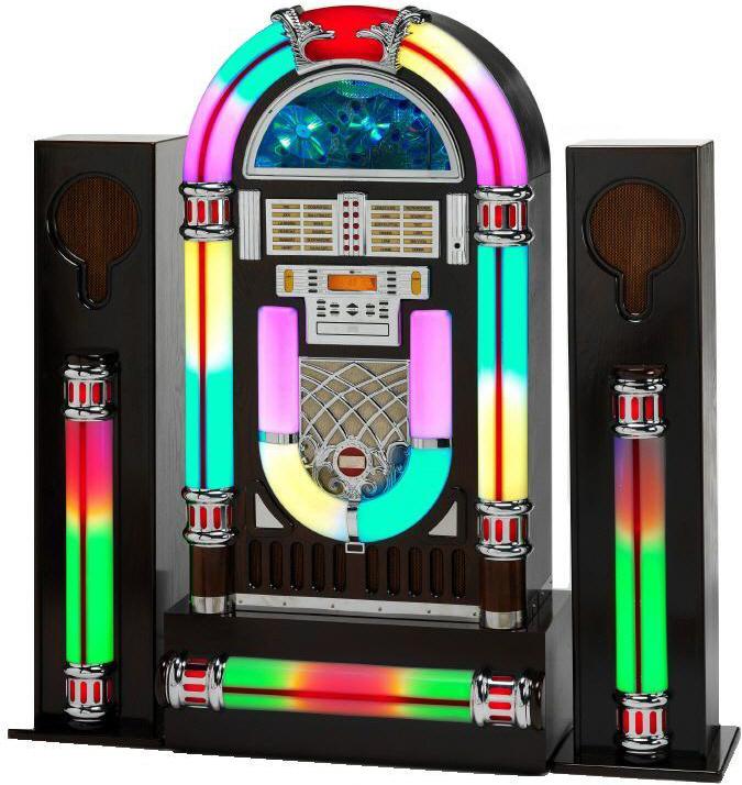 Bluetooth MP3 CD Rock One u0026#39;14 Jukebox : Jukebox : Steepletone MP3 CD Rock One Jukebox with ...