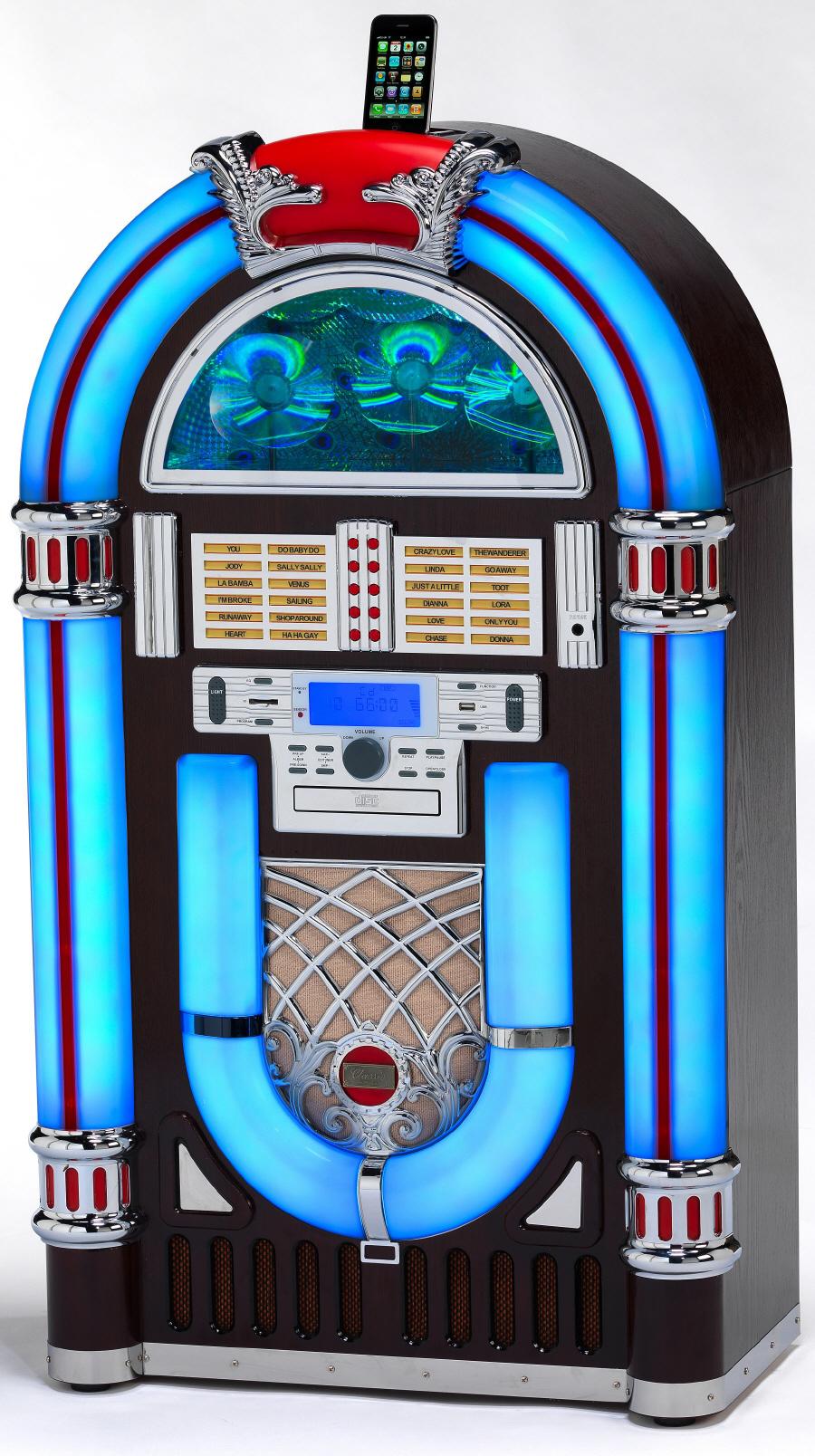 Bluetooth Mp3 Cd Rock One 14 Jukebox Jukebox