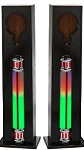 LED Speakers for MP3 Rock One Jukebox - Click on image for details