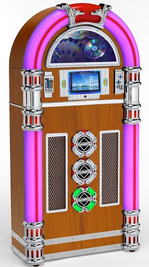 Touch Rock 50 MW Jukebox Light Wood