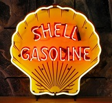 Shell Gasoline Neon Sign