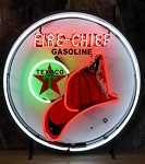 Texaco Firechief Neon Sign