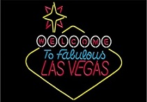 Welcome to Vegas Neon Sign