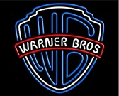 Warner Bros Neon Sign