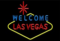 Welcome Las Vegas Neon Sign