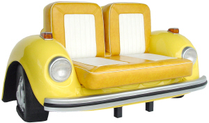 Retro VW Beetle Sofa - Click on image to enlarge