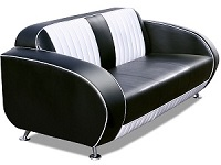 Retro High Back Retro Sofa - Click on image for more details