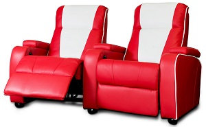 Home Cinema Chair Red - Click on image to enlarge