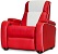 Retro Home Cinema Chair Red - Click on image to enlarge