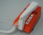 Red Trimphone Push Button - Click on image for more details