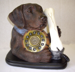 Labrador Phone Brown - Click on image for more details
