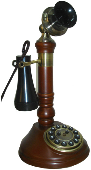 SNW05 Candle Stick Phone - Click on image to enlarge