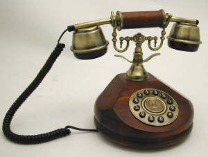 SNW17 Antique Phone - Click on image to enlarge