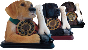 Labrador Novelty Phone - Click on image to enlarge