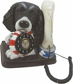 Spaniel Novelty Phone - Click on image for more details