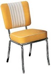 50s Diner Bistro Chairs - Click on image to view Colours & Details