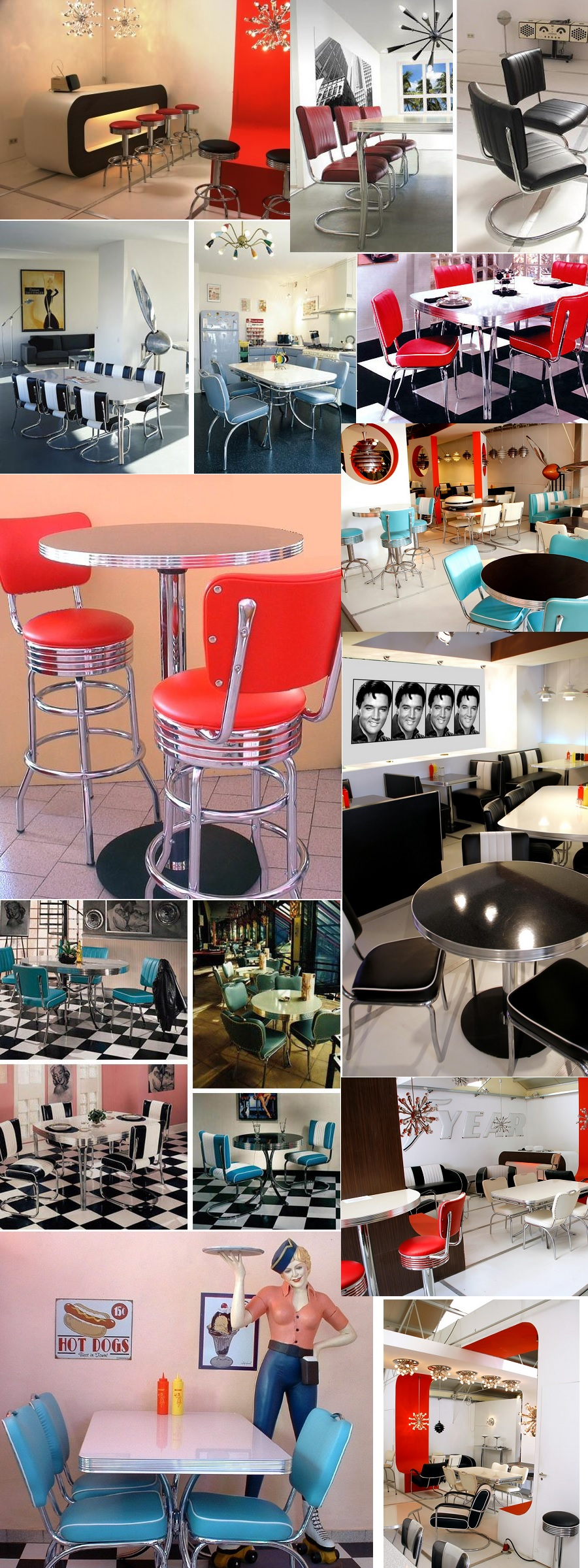 Retro Furniture Diner Booths Diner Chairs Diner