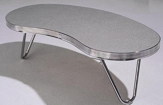 50s Style Kidney Shaped Coffee Table Retro Coffee Tables Retro To18 Coffee Table Wotever