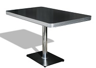 TO22W Retro Diner Table - Click on image to view more details