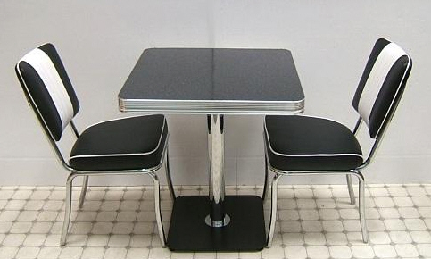 50s diner stools american diner furniture retro diner sets 50s american diner : 50s diner table set - Pezcame.Com