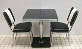 American Diner Set - 2 x CO24 Chairs & 1 x TO23 Table