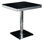 Small Pedestal Booth Table 55mm Edging - Click on image to view colours and details