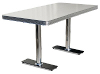 TO25W Retro Diner Table - Click on image to view more details