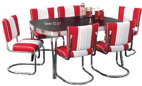 American diner furniture retro diner sets 50s american for 50s diner style kitchen