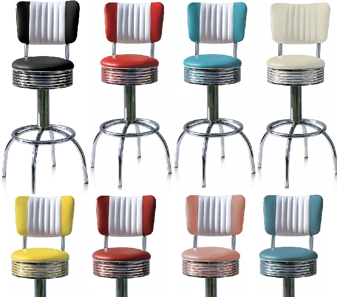Diner Stools | Wotever.co.uk/dinerstools