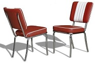Diner Chairs - Click here for details
