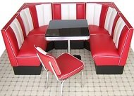 Diner Booth Set - Click on image to view details