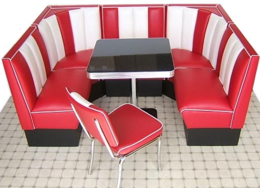 Retro Red Kitchen Table
