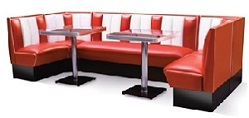 Hollywood Diner Booth Combination Set 1