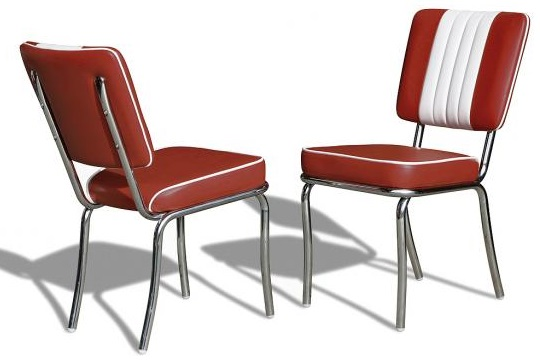 American 50s Style Diner Chairs Retro Chairs Co24