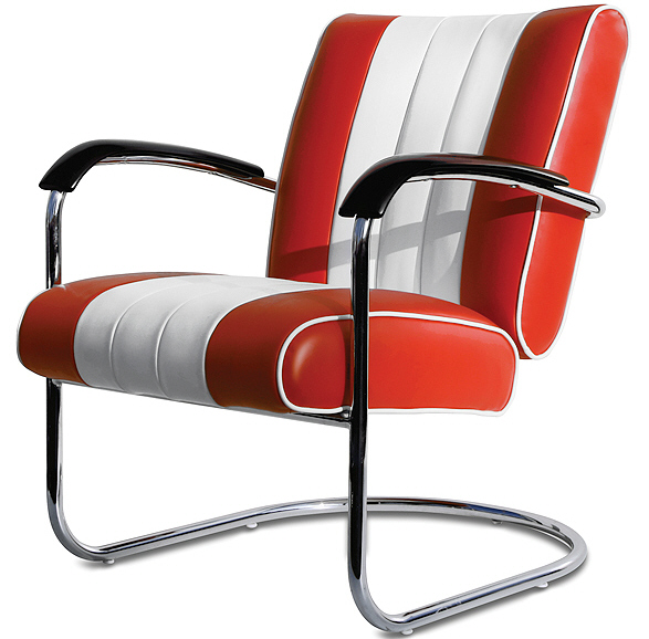 American 50s Style Diner Chairs   Retro Chairs   LC01 ...